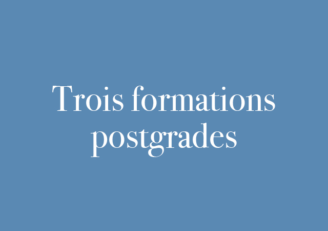 trois formations_sommaire